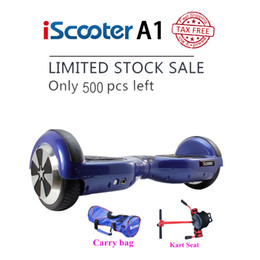 Wholesale iScooter hover board Electric scooter hoverboard Smart two wheel Self balance scooter Skateboard drift
