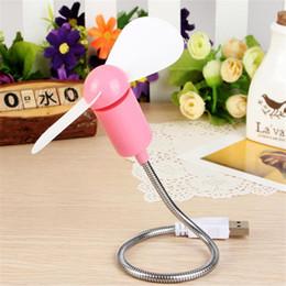Wholesale Cool USB portable mini Snake small fan laptop mobile power desktop fan fan quiet summer creative USB Mini Fan