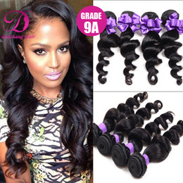 Wholesale Best selling A top grade loose human hair natural pc brazilian loose wave hair maintain style long time