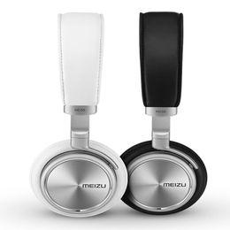 Wholesale Original Meizu HD50 Headphones Headhand HIFI Aluminium alloy shell Less than of low distortion Superfine fibre diaphragm Retail Box