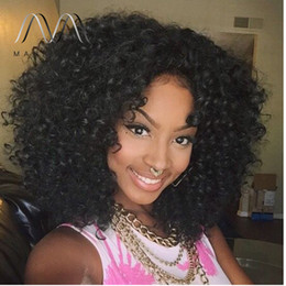 loose curl Full Lace Wig 150% Density Glueless malaysian Human Hair Lace Front Wigs For Black Women