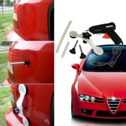 Magic Car Repair Kit & DIY Car Dent Damage Repair Removal Tool with Glue Stick Gun cwf
