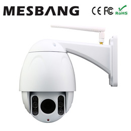 Wholesale P2P Plug and Play P PTZ dome wifi IP CCTV Camera Wireless Optional Zoom MP Wireless Security Camera