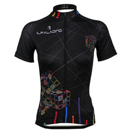 PALADIN MAGIC CUBE Women's Cycling Jersey Bike Cycling Clothing Bicycle Short Sleeve Cycling Jersey Top   Jacket