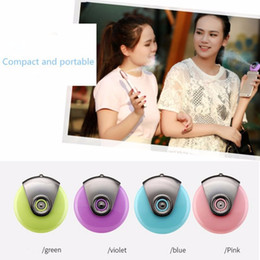 Wholesale Portable Mini Facial Beauty Equipment Nano Moblie moisture Supplier Moisturizer Face Water Spray humidifier for iPhone Android Phone Factory