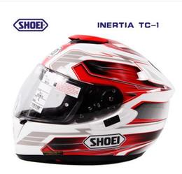 Wholesale SHOEI Helmets Motorcycle Helmet Motorcycle Double Lens Helmets Yohe GT AIR Full Face Helmets Off road Racing Helmets With Top Quality