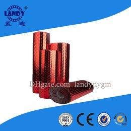 Wholesale Construction materials double Thermal Aluminum foil Bubble insulation can Fire resistant lowes soundproof foil