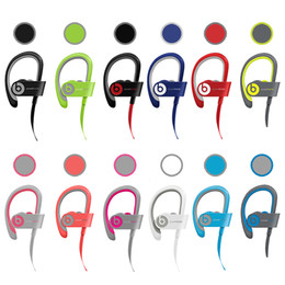 Wholesale Used Beats powerbeats wireless Active collection earphone noise Cancel Bluetooth Headset Refurbished with seal retail box DHL Free