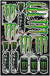 Wholesale personalized MONSTER stickers motorcycle bike car sticker waterproof high temperature resistant decals cm _02