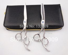 Professional Hair dressing scissors set straight & Thinning Barber shears 6.0 inches bainiao S008