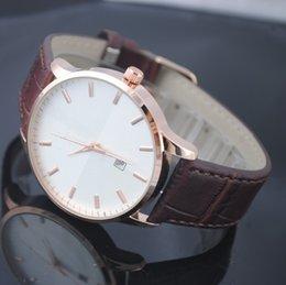 Wholesale Hot Famous fashion brand men quartz luxury watch military sport watches leather strap AR Wristwatch Relogios masculinos