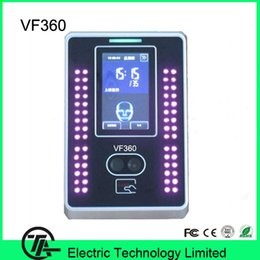 Wholesale 3 inch touch screen VF360 biometric facial access control and time attendance face templates face ID card time attendance
