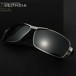 New arrival VEITHDIA Polarized Sunglasses Men Brand Designer Vintage Male Driving Sun Glasses Fashion Eyewear Retro Goggles Free Shipping