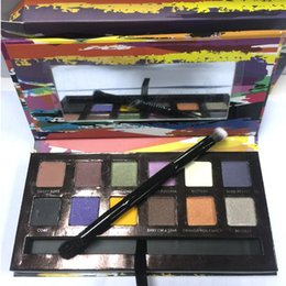 Wholesale HOT NEW Makeup ABH Artist Palette g Colors Eye Shadow with logo both brush and pallette DHL