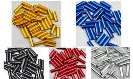 10 pcs / lot Alliage d'aluminium Vélo de vélo Câble de frein Embouts Bicyclettes Dérailleur Shift Câble Fin Caps CoreInner Wire Ferrules à partir de vélo fil de câble de frein fabricateur