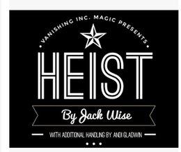 Wholesale 2015 Heist by Jack Wise and Vanishing Inc
