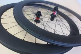 Wholesale SWISS S Clincher road disc bike wheeslet holes Cyclocross carbon wheels UD Matte no braking surface J hook Center Lock hub