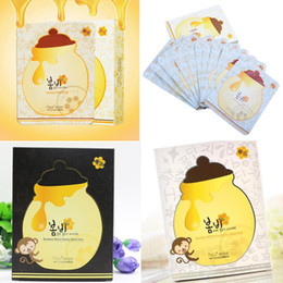 Wholesale Face Mask Papa Recipe Moisturizing Whitening Black Bombee Honey Mask Pack Korea s Skin Care Facial Mask Sheet Suitable for Baby Pregnant