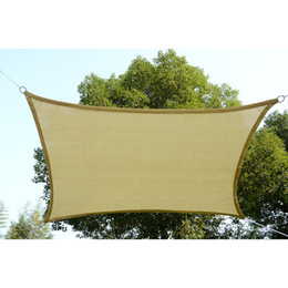 Wholesale Sun Shade Sail UV Top Cover Outdoor Canopy Patio Square Rectangle New