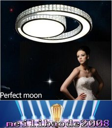 Wholesale 2016 new arrivals modern crystal ceiling lamp bedroom lights luminarias de led living room light plafondlamp fittings flushmount MYY