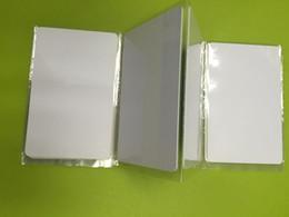 Impresoras de inyección de tinta gratis en venta-La viruta de la tarjeta en blanco TK4100 / EM4100 de la identificación del PVC RFID de la alta calidad 125KHZ para la impresora de inyección de tinta de Epson / Canon libera el envío