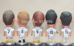 Wholesale Soccer Doll Kodoto Series Football Club Spanish A League Real Madrid Players White Kit Kroos James Benzema Pieces Dolls