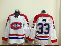 Wholesale NHL Stitched Montreal Canadiens White Hockey Jerseys Patrick Roy Maurice Richard PK Subban Throwback CCM VTG Man Jersey Size M XL