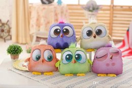 Wholesale Angry Birds Plush Toys Multiple Color In Min Size cm best gift for kids