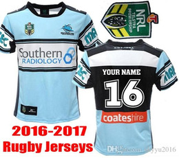 Wholesale Best Thai quality New Cronulla Sharks rugby jerseys Zealand NRL best Australia league rugby shirts SIZE S XL