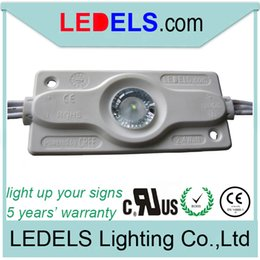 UL CE ROHS LISTED 2.4w 200lm 12v CREE led module backlight led light for outdoor light box signs