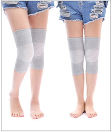 2 Pair Summer Kneepad Warm Old Cold Legs Thin Section of The Air Conditioning Room Slip Joint Kneepad Old Men and Women Kneepa