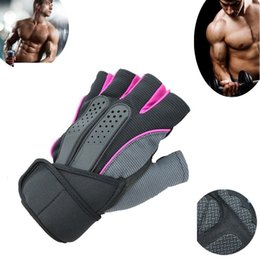 Gym Weight Lifting Fitness Boxing Gloves Training Workout Bodybuilding Wrist Wrap Exercise Glove
