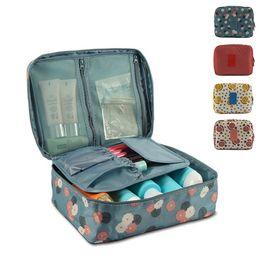 large capacity cosmetic organizer Korean makeup bag dot women handbags portable storage canvas bag big travel bag storage box PACKING CUBE