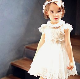 Wholesale The original hot summer tong tong dress manufacturers selling cotton lace princess dress the original single foreign trade