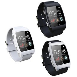 Wholesale 2016 NEW Heart Rate UWatch Bluetooth Smart U Watch UX Smartwatch Wristwatch for intelligent S6 Kits Android Smart Phone NFC Ea