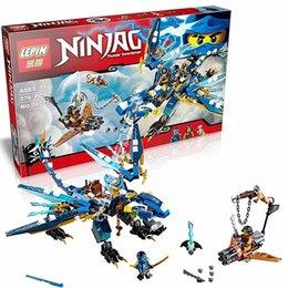 Wholesale 06027 Jay s Elemental Dragon Ninjago Marvel Ninja Building Block Kits Toys Minifigures Compatible With LEGOes For Boys Gifts