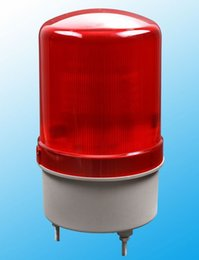 Wholesale S AC220V Construction engineering signals Warning alarm rotating beacon traffic light police siren without sound