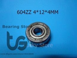 Wholesale 604ZZ bearings metal Sealed Miniature Mini Bearing chrome steel bearing Z ZZ mm