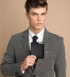 2017 hot new men's short wallet, iron edge, young men's cross section wallet, trend card pack