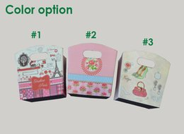 Tapered Storage boxes- Storage Bin for Organization - Foldable Fabric Storage With Floral print Containers with Two Handle Holes