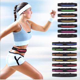 Multifunction Cycling Running Men And Women Sports Waist Packs Outdoor Casual Sports Phone Bag Invisible Travel Bag