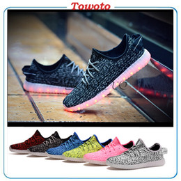 Wholesale 2016 luminous Led Shoes Lamp Light Shoe Casual Shoes Leisure Walking Breathable Unisex Shoes colorful Flashing with USB Charge Best quality