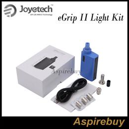 Wholesale Joyetech eGrip II Light TFTA Tank Technology All in One Kit mah Battery Capacity and ml Capacity Compact High Performance KitOriginal