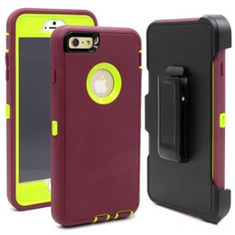 Wholesale Tire Robot Hybrid Heavy Duty Rugged Shockproof Hard plastic Soft Silicone Case Skin Cover for iphone PLUS