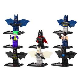 2017 8pcs Set D840 Avengers Marvel Comics DC Batmannes Robin Joker Surper hero Building Blocks Toys as Gift for Kids As Birthday Gift