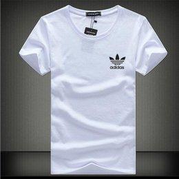 Wholesale 2016 New Men s T Shirt Brand Cotton T Shirt Men Short Sleeve Casual Shirt Quick Dry Fit Plus Size S XL Tops Tees