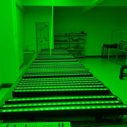 Free shipping High quality 24x10W RGBW Quad 4in1 LED Wall Washer Light, 4in1 LED Bar Light