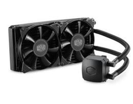 CoolerMaster two 14cm PWM fans CPU water cooler Nepton (BINGSHEN) 280L RL-N28L-20PK-R1 for multi-platform