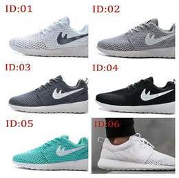 Wholesale 2016 Summer Mens Womens Roshe Run BR Athletic running shoes fashion London Olympic Mesh Light weight Breathable sports Shoes