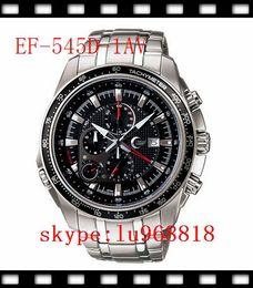 Wholesale TOP QUALITY BEST PRICE New EF D AV EF D AV EF D EF D Men s Sport Chronograph Alarm Wristwatch EF D A